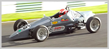 Photo of AHS Challenger Formula Vee car