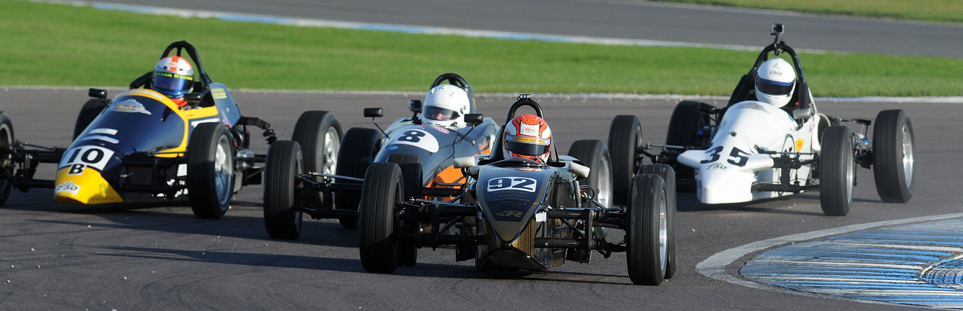 Racing on the UK's premier circuits