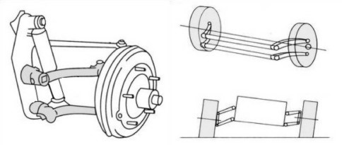 Diagram of Front Suspension