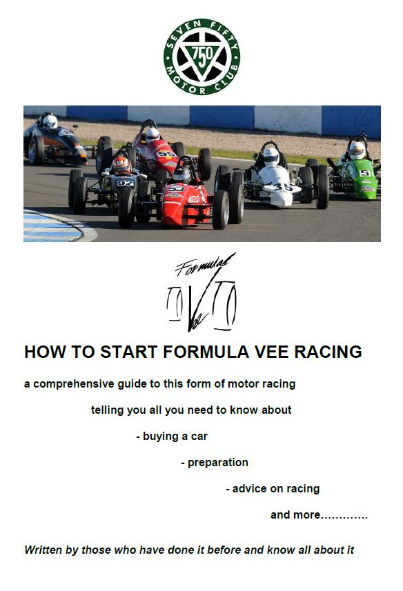 How to start Formula Vee Racing Front Cover