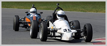 Photo of White Leastone Formula Vee car