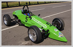 Photo of Spyder Formula Vee car