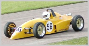 Racing photo of TTM VeeTech Formula Vee car