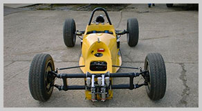 Back of TTM - VeeTech Formula Vee car